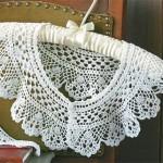 Вязание воротника крючком