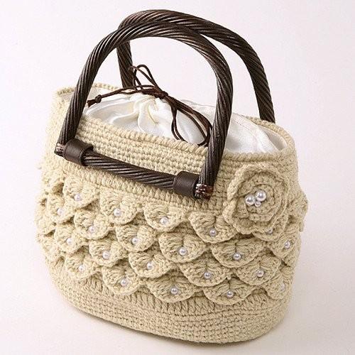 Тонкая пляжная сумка