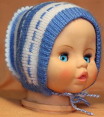 Детские шапки - схемы вязания