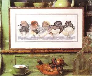 Картина Дикие утки