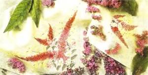 Скатерть цветочная