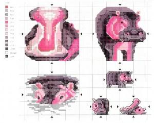 Схема бегемотов