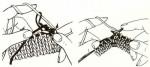 Как прятать концы в вязаном изделии
