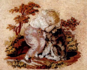Бисерное рукоделие конца 19 - 20 веков