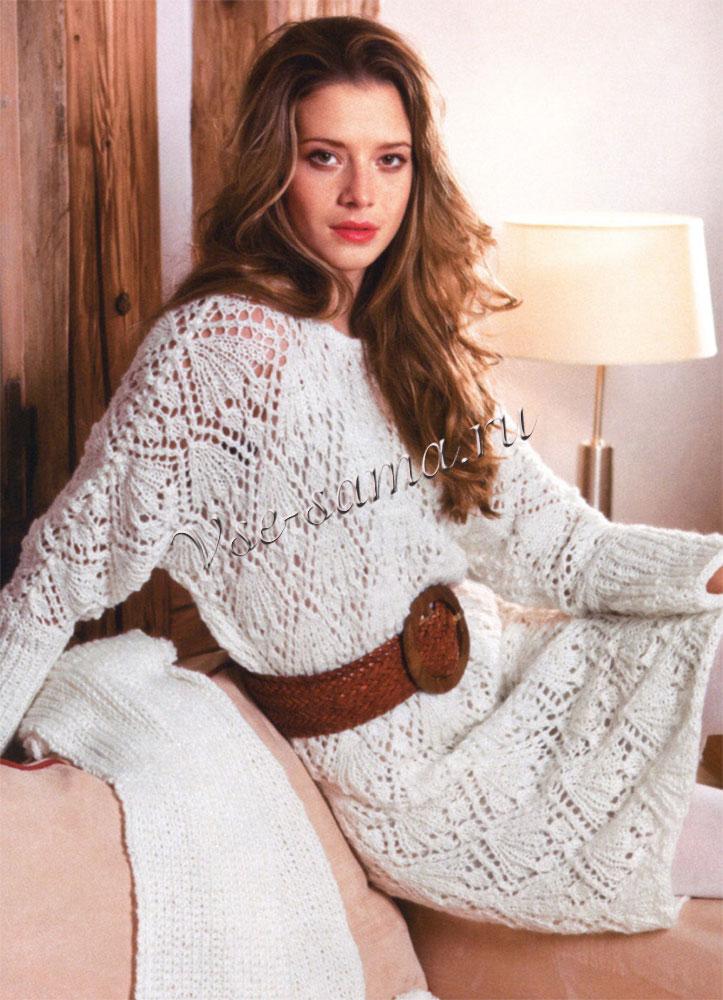 красивое вязание ажурное