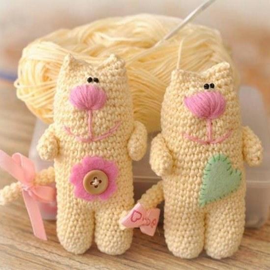 Детские игрушки вязанные